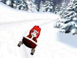 3D Speedy Santa