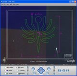 CAD図面を GoogleEarthに表示