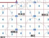 福岡、数値地図5mメッシュ