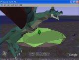 Google Earthで 3Dアニメーション