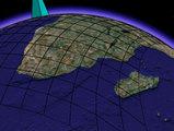 平面直角座標系の歪み